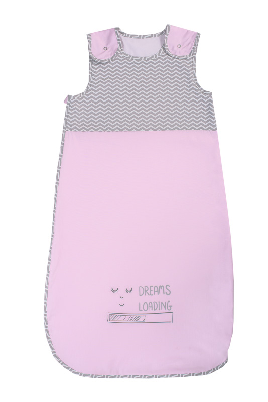 reducere destul de dragut detalii pentru Sac de dormit pentru bebe Pink – 6-24 luni, 100% bumbac - Articole pentru  bebelusi si viitoare mamici