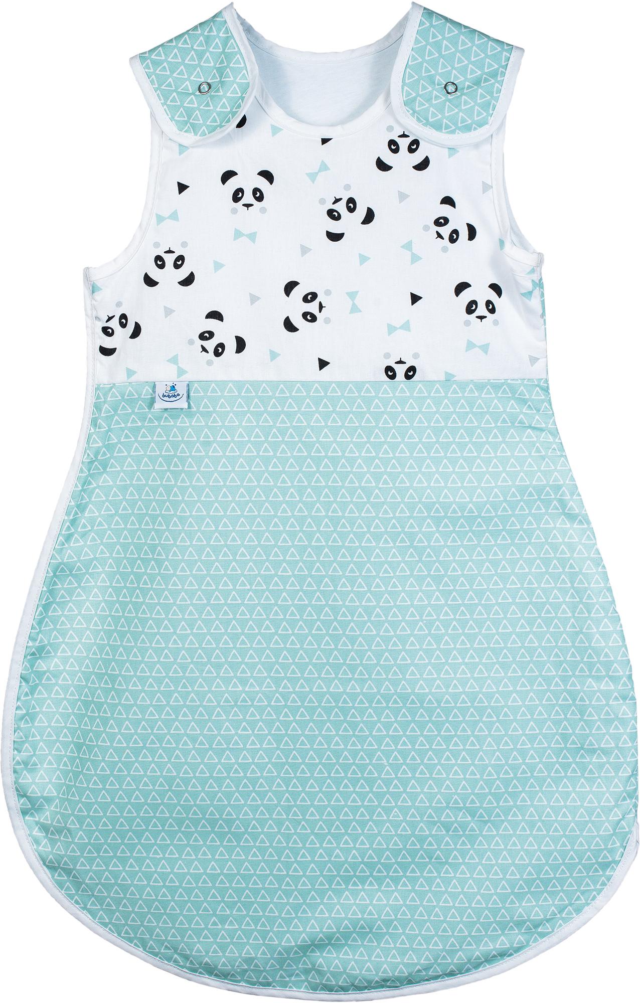 calitate site web pentru reducere prima vedere Sac de dormit bebe pentru vară – 0-6 luni, 100% bumbac, model Green Pandas  - Articole pentru bebelusi si viitoare mamici