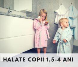 HALATE COPII - 1,5-4 ani