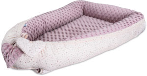 baby nest bubaba pink hearts